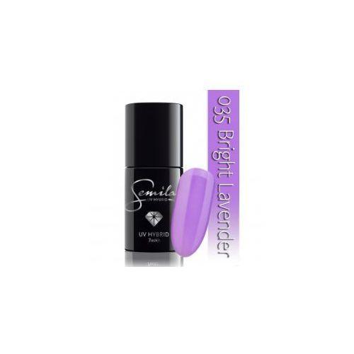 Semilac lakier hybrydowy 035 Bright Lavender, 7ml