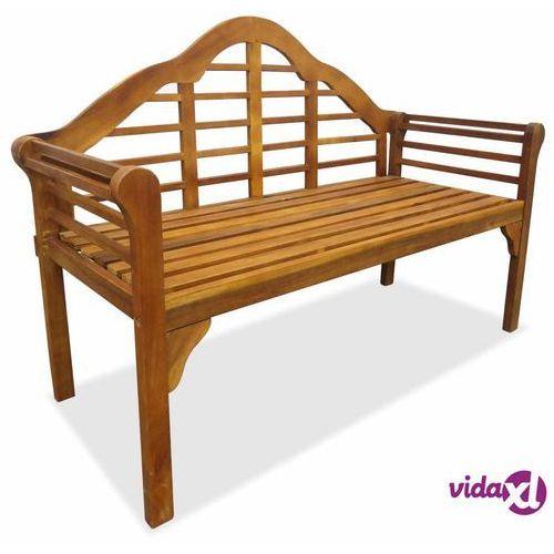 Vidaxl 2-osobowa ławka ogrodowa, lite drewno akacjowe