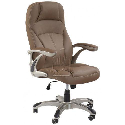 Fotel gabinetowy carlos jasny brąz - gwarancja bezpiecznych zakupów - wysyłka 24h marki Halmar