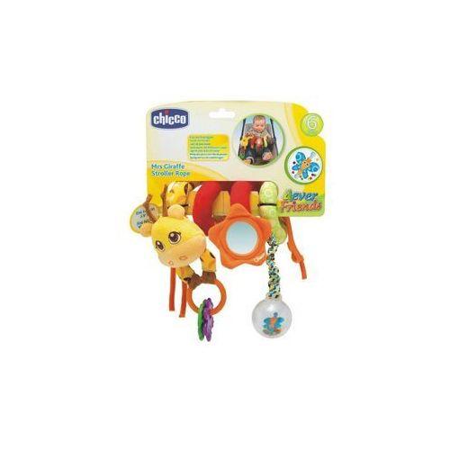 Chicco zabawka - zawieszka do wózka żyrafa 0m+ (8058664029495)