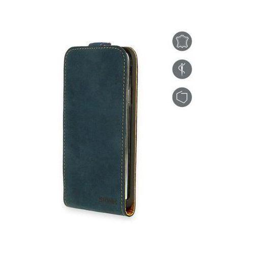 Etui SKINK Flap Card do Iphone 5/5S Granatowy (5902335360055)