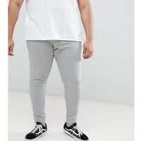 Jack & jones essentials plus size joggers - grey