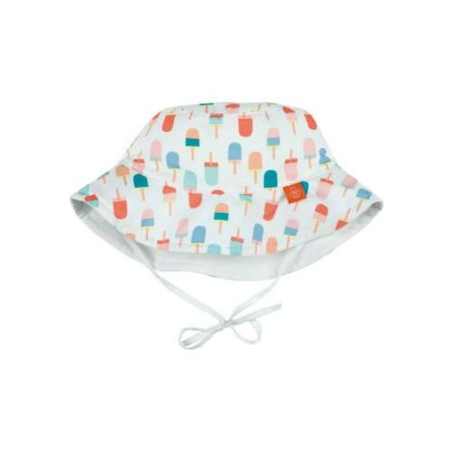 Lässig girls splash & fun kapelusz dwustronny uv 50+ ice-cream white