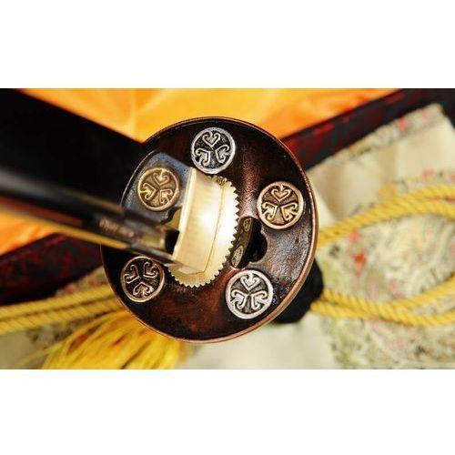 Sztylet samurajski tanto, stal wysokowęglowa 1095, hartowany glinką r700 marki Kuźnia mieczy samurajskich