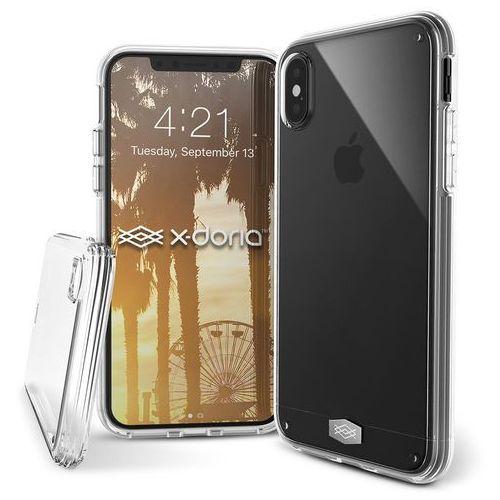 clearvue - etui iphone x (clear) marki X-doria