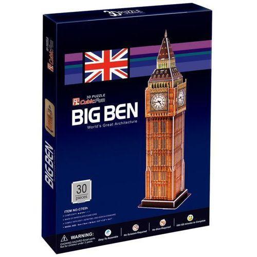 Puzzle 3D Big Ben 30 elementów