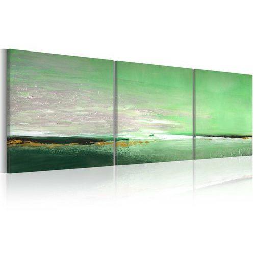 Obraz malowany - seledynowe wybrzeże marki Artgeist