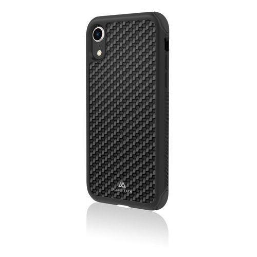 Wd & br Etui black rock robust real carbon do apple iphone xr czarny (4260557040898)