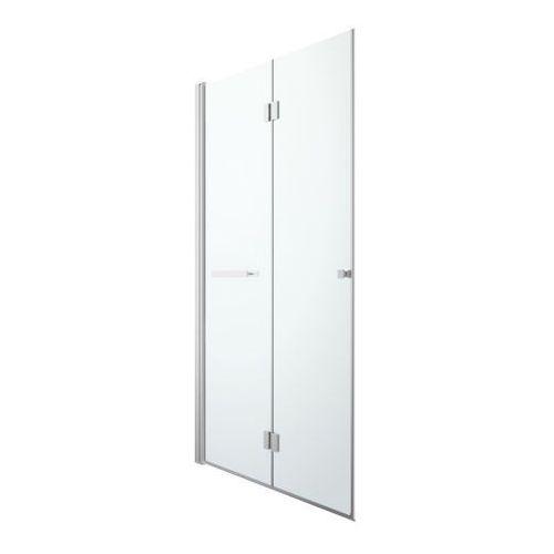 Drzwi prysznicowe składane GoodHome Beloya 120 cm chrom/transparentne (3663602945291)