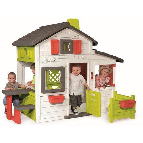 DOMEK FRIENDS HOUSE SMOBY 310209- wysyłamy do 18:30 (3032163102090)