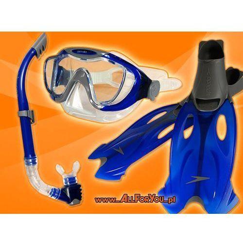 Speedo Zestaw do nurkowania maska+fajka+płetwy