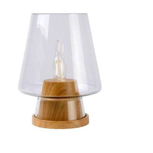 Lucide  glenn lampa stołowa brązowy, 1-punktowy - nowoczesny - obszar wewnętrzny - glenn - czas dostawy: od 4-8 dni roboczych
