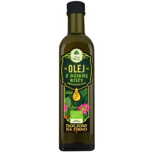 Olej z Pestek Dzikiej Róży BIO 100 ml Dary Natury (5902581616074)
