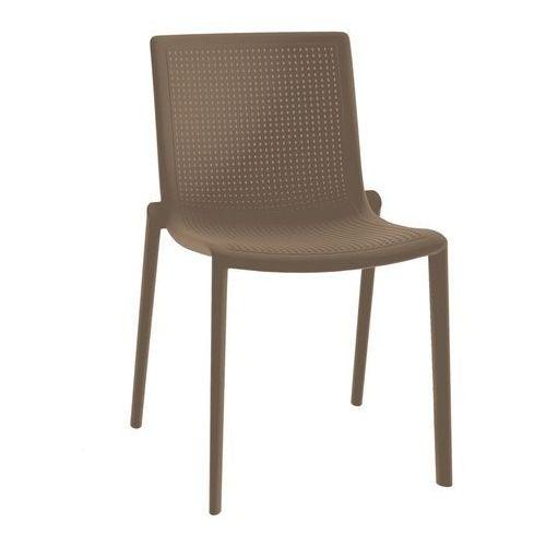 Resol Krzesło z tworzywa sztucznego beekat bez podłokietników