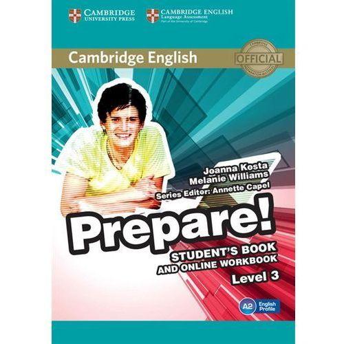 Cambridge English Prepare! 3 Student's Book + online workbook - Wysyłka od 3,99 (168 str.)