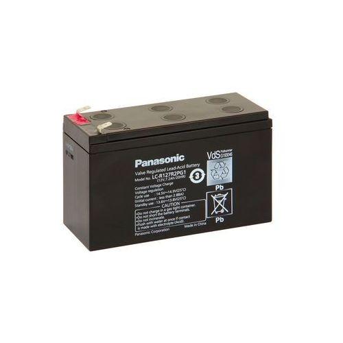 Panasonic LC-R127R2PG1 - Akumulator ołowiowy 12V/7,2Ah/faston 6,3mm
