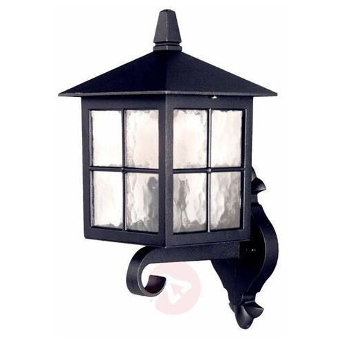 Elstead Zewnętrzna lampa ścienna winchester bl17 elewacyjna oprawa tarasowa latarenka do ogrodu outdoor ip44 czarna (5024005488200)