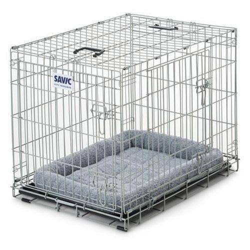 Klatka transportowa Savic Dog Residence z poduszką - Dł. x szer. x wys.: 91 x 61 x 71 cm| -5% Rabat dla nowych klientów| Dostawa GRATIS + promocje