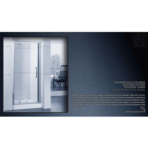 Drzwi prysznicowe AXISS GLASS AXP080WS 800mm