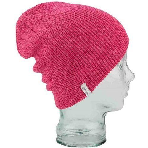 Czapka zimowa - the frena solid heather pink (20) rozmiar: os marki Coal