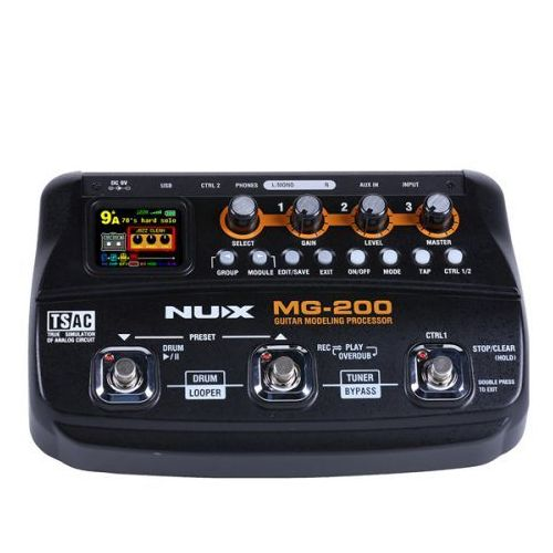 Nux mg-200 - multiefekt gitarowy (0885947101474)