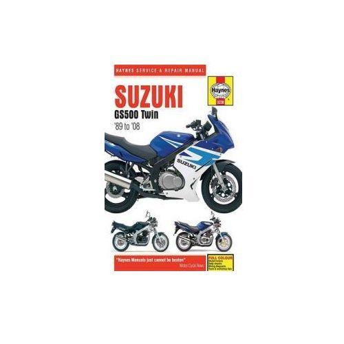 Suzuki GS500 Twins Service and Repair Manual - Dobra cena!