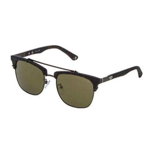 Police Okulary słoneczne spl494 block 2 clip on polarized 627v