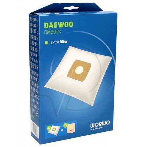 DMB02K Worki Perfect Bag (4szt.) + filtr wlotowy (1szt.) do odkurzacza Daewoo (5901362004987)