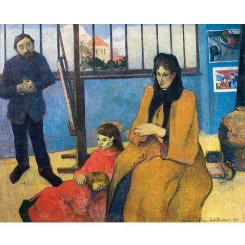 Reprodukcja The Schuffenecker Family or Schuffenecker's Studio 1889 Paul Gauguin, kup u jednego z partnerów