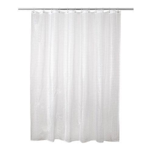 Cooke&lewis Zasłonka prysznicowa lacha 180 x 200 cm transparentna