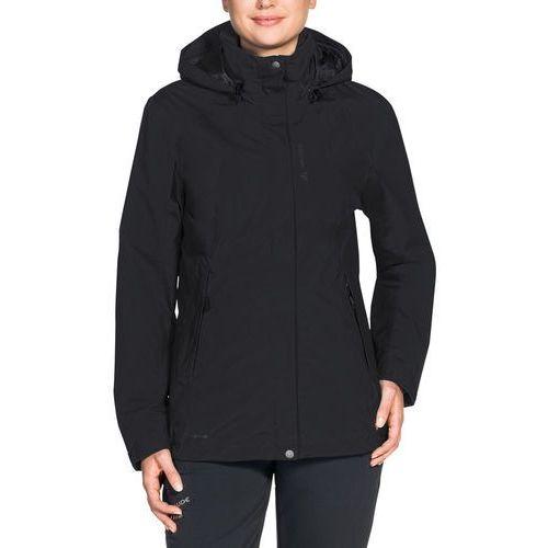 kintail iv kurtka kobiety czarny 44 2018 kurtki przeciwdeszczowe marki Vaude