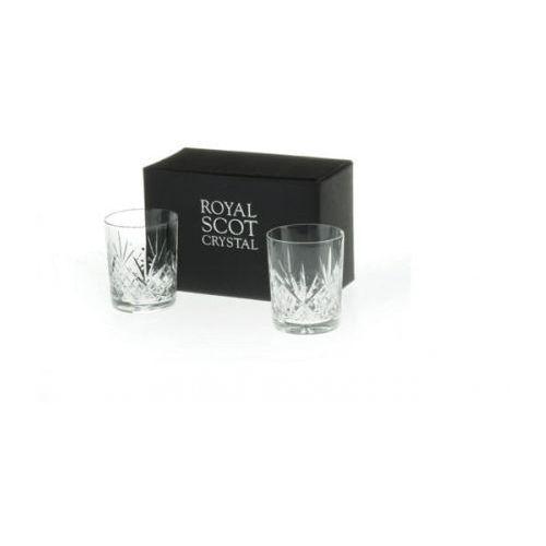 szklanki highland do whisky 210ml 2szt. marki Royal scot crystal