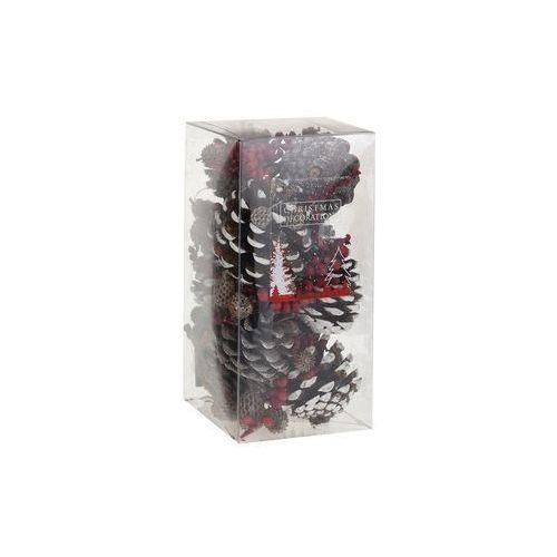 Black red white Szyszki dekoracyjne