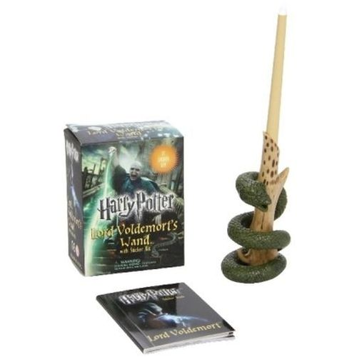 Harry Potter Voldemorts Wand with Sticker Kit (9780762452415)