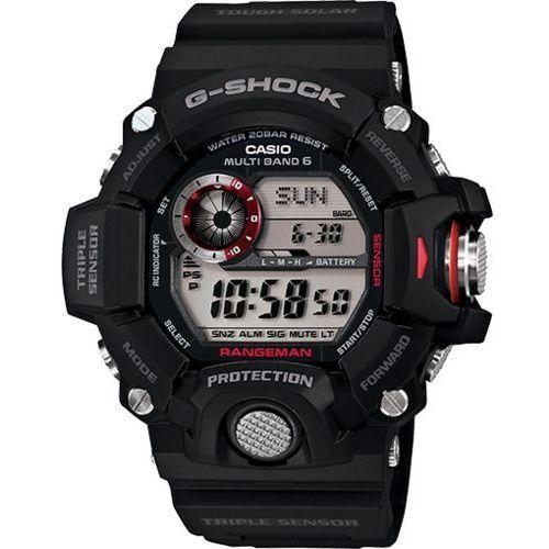 Casio g-shock professional rangeman zegarek gw-9400-1 - czarny