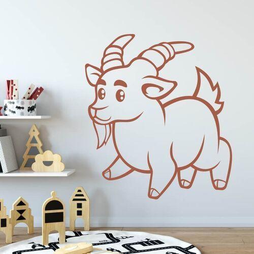 Wally - piękno dekoracji Naklejka na ścianę dla dzieci koziołek 2411