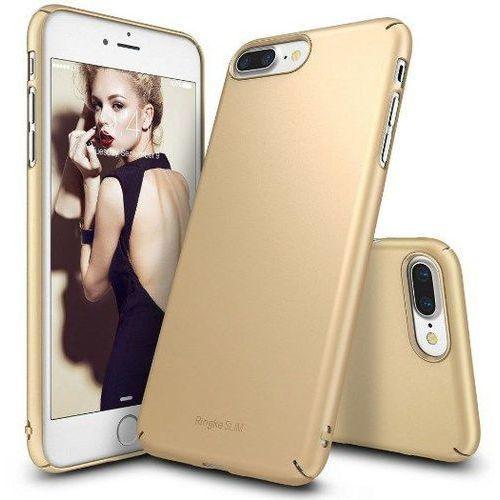 Rearth  ringke slim royal gold | obudowa + folia ochronna dla modelu apple iphone 7 plus / 8 plus - royal gold (8809512153394)