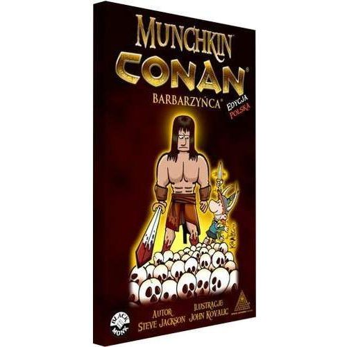 Black monk Gra munchkin conan: barbarzyńca (5987512456745)
