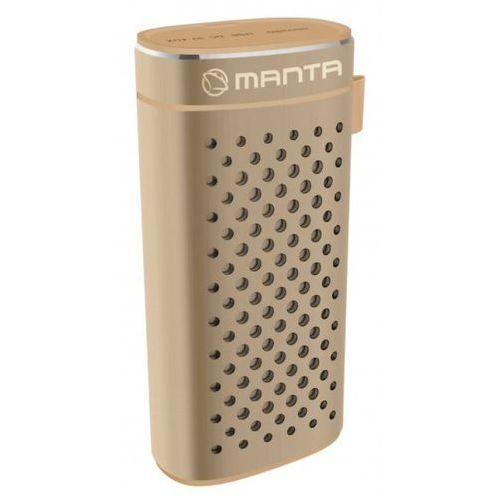 Głośnik przenośny mpbc7g amber marki Manta