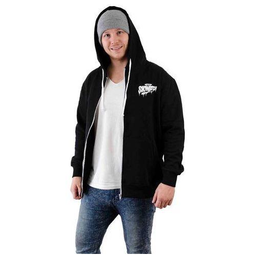 bluza SNOWBITCH - Tag Zip-Hoody Black (BLACK) rozmiar: L