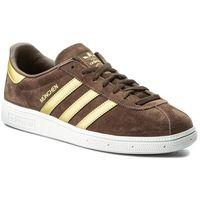 Buty adidas - Munchen CQ2320 Brown/Magold/Ftwwht, w 2 rozmiarach