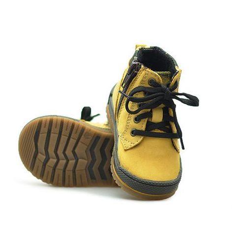 Trzewiki profilaktyczne dziecięce 91813 żółte nubuk marki Bartek