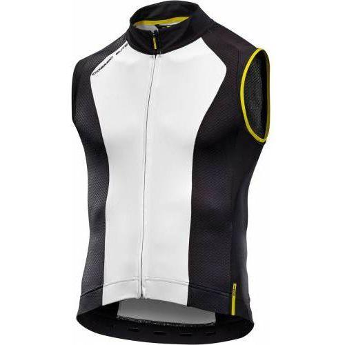 Mavic Męska koszulka cosmic elite sl jersey white/black rozmiar m