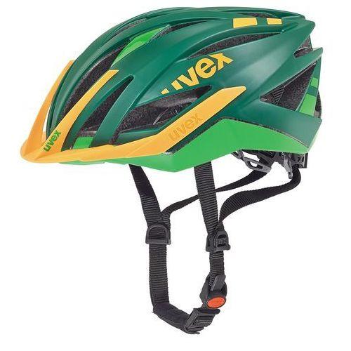 Kask rowerowy ultra snc 2016 zielony|pomarańczowy marki Uvex