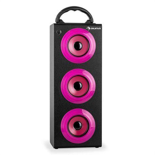 auna Beachgirl XXL głośnik Bluetooth pink USB SD AUX FM