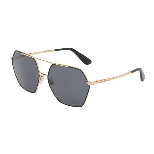 Okulary słoneczne dg2157 polarized 131181 marki Dolce & gabbana