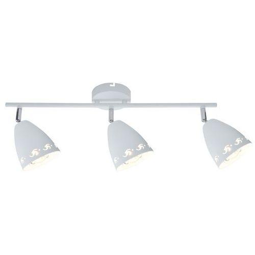Listwa lampa sufitowa plafon spot Candellux Coty 3x40W E14 biały mat 93-67142, 93-67142