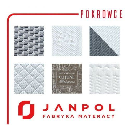 Janpol Pokrowiec na materac - , rozmiar - 90x200 cm, pokrowiec - smart - negocjuj ceny