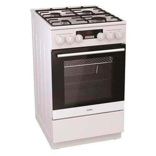 MORA kuchnia gazowo-elektryczna K 865 BW (8590371054952)