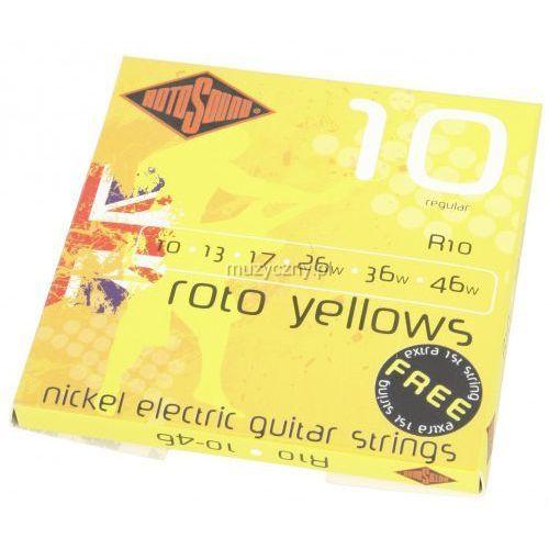 Rotosound R-10 Roto Yellows struny do gitary elektrycznej 10-46